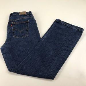 Levi's Boot Cut 515 Jeans Size 16M